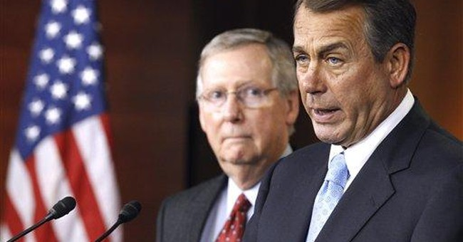 GOP wins first budget skirmish, bigger fight looms