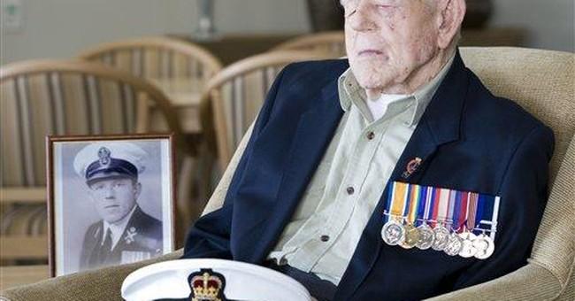One of last 2 WWI veterans turns 110 in Australia