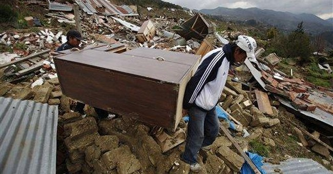 Bolivia slide claims 400 homes