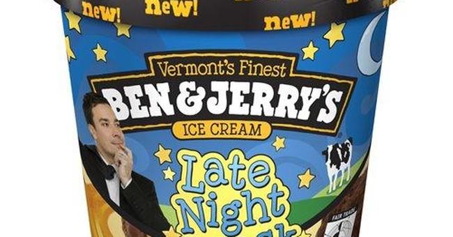 An anniversary for Jimmy Fallon, plus ice cream