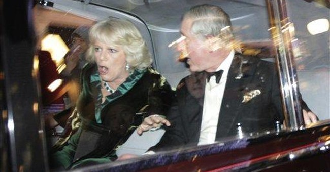 Suspect arrested in attack on Prince Charles' car