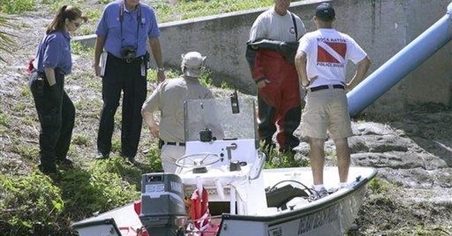 Fla. police identify children found in canal