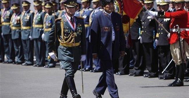Arrest of top Bolivian drug cop riles president