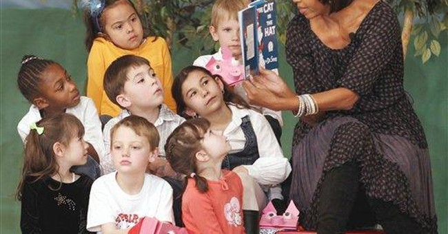 2 first ladies read to students to honor Dr. Seuss