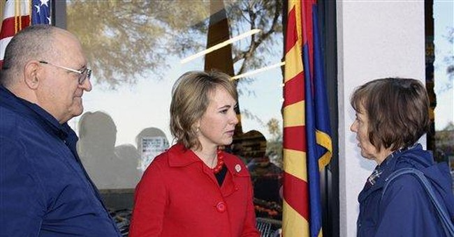 Photo shows Giffords morning of shooting rampage