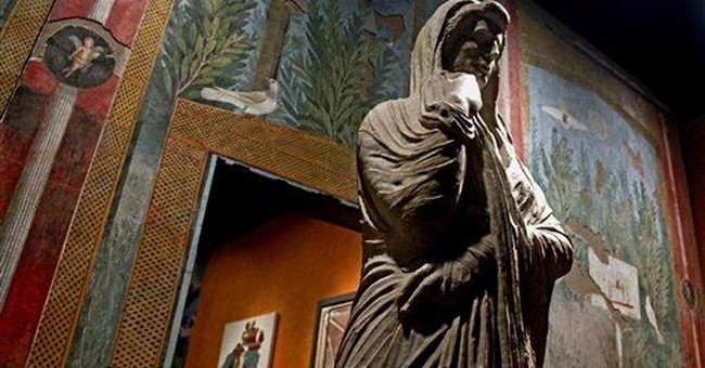 Pompeii exhibit in NYC shines light on buried city