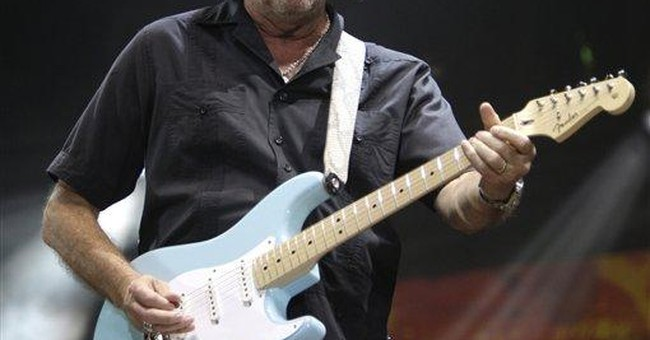 Eric Clapton guitars slated for NYC auction block