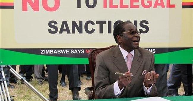 Zimbabwe's Mugabe goes to Singapore for eye check