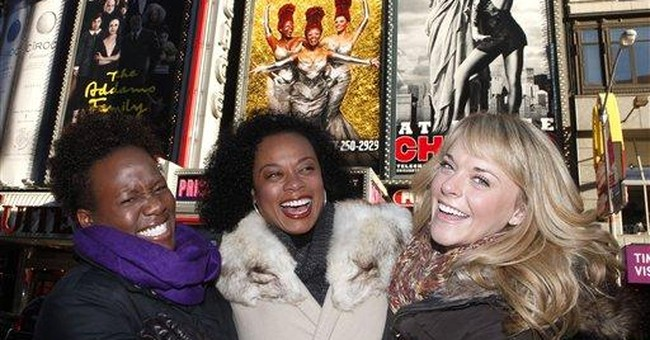 3 Broadway divas love shaking their groove thing