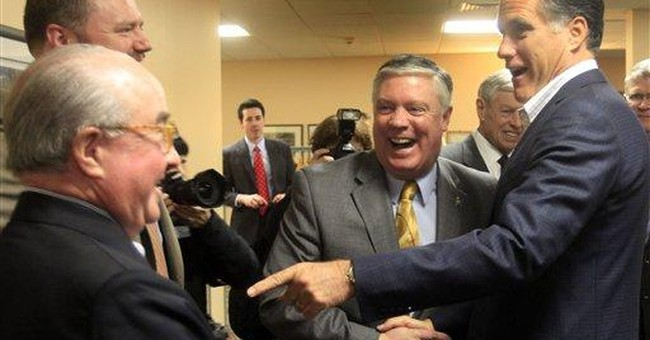 Romney, novice no more, focuses on Obama, economy