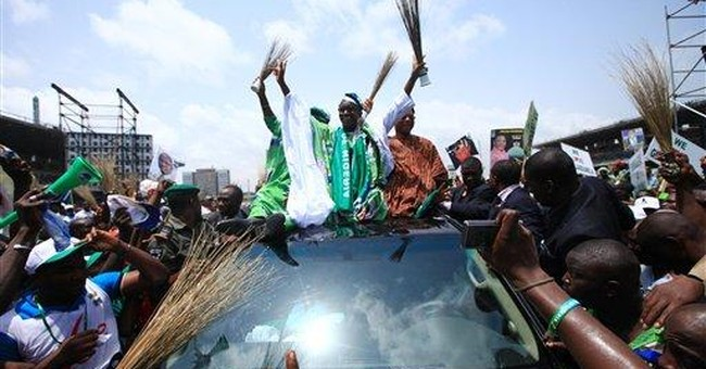 Opposition rallies before Nigerian elections