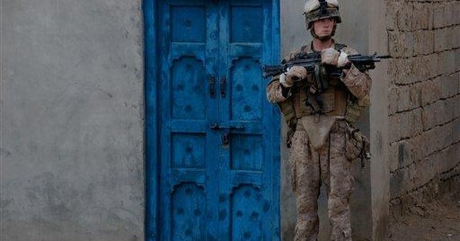 Marines in deadly Afghan valley face combat stress