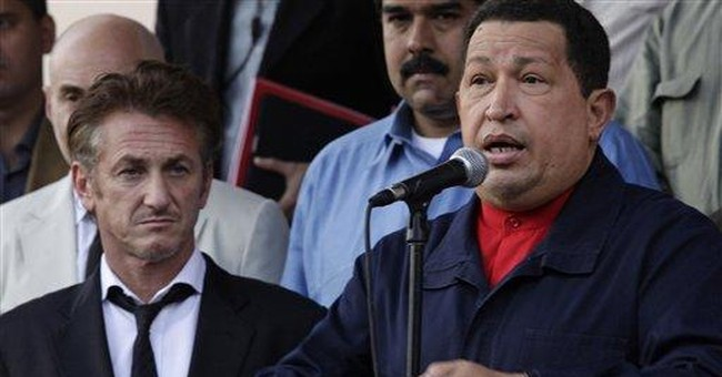 Sean Penn thanks Venezuela's Chavez for Haiti aid