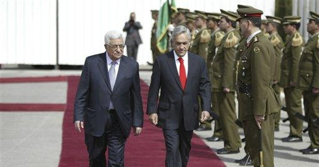 Palestinian leader: No state with temporary border