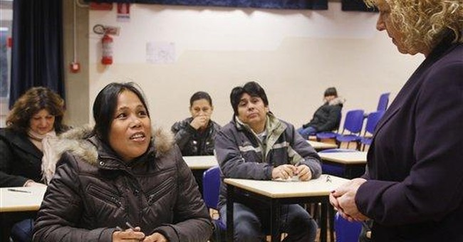 Italy makes immigrants speak Italian for work visa