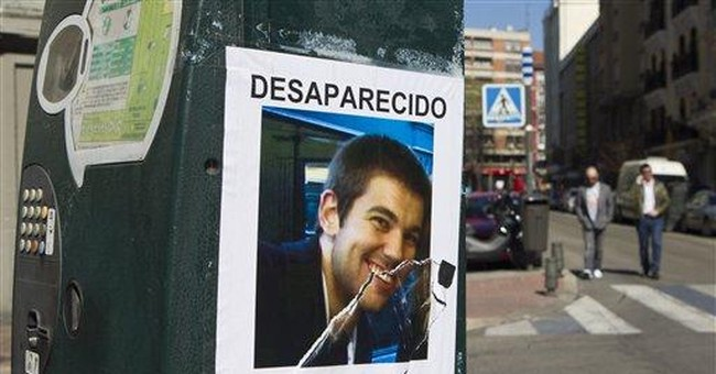 Search for missing US student in Spain