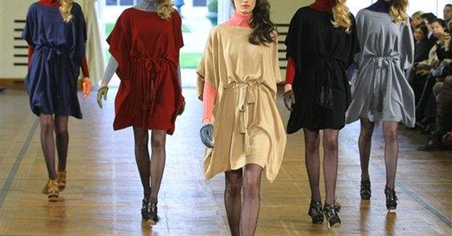 Fashion world flocks to see Galliano collection