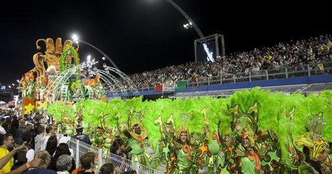 Rio Carnival group looks to bounce back from fire