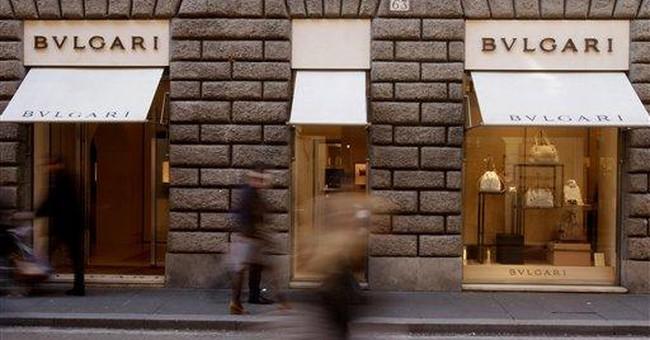 LVMH to buy Italian jeweler Bulgari