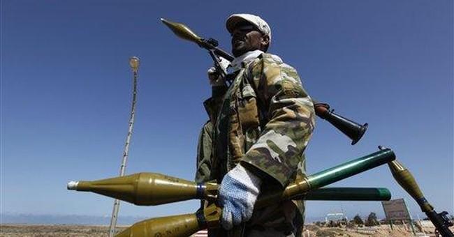 Against Libya's rebels, Gadhafi controls the skies