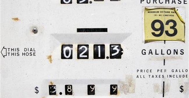Oil settles above $105 a barrel, gas above $3.50