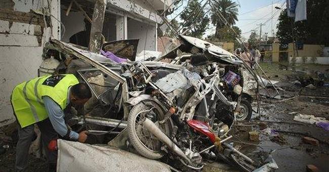 Taliban car bombing kills 20 in east Pakistan