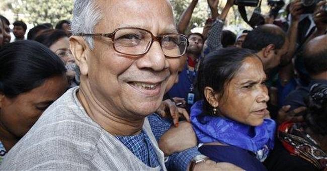 Bangladesh court OKs Yunus' dismissal from bank
