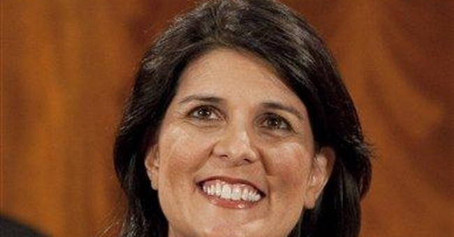 South Carolina Gov. Nikki Haley is writing memoir