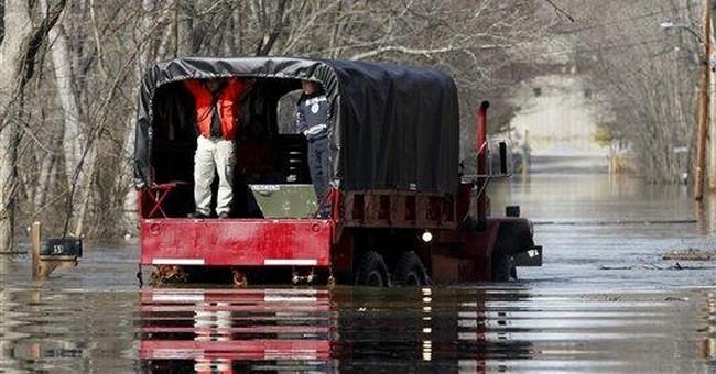 Flooding threatens parts of mid-Atlantic region