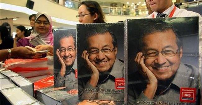 Malaysia's Mahathir defends legacy in memoir