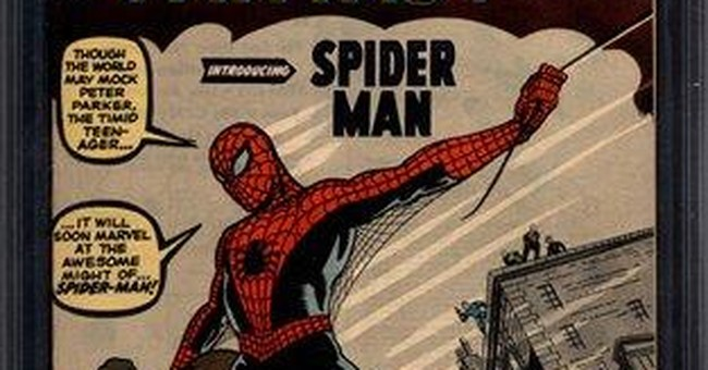 Spider-Man's debut comic sells for $1.1 million