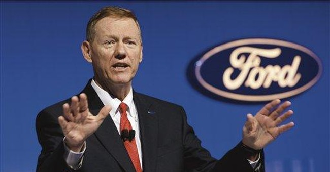 Ford CEO Mulally gets $56.5M in stock award