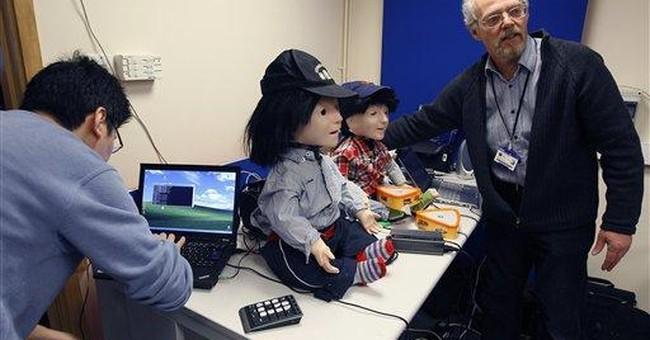 Kaspar the friendly robot helps autistic kids