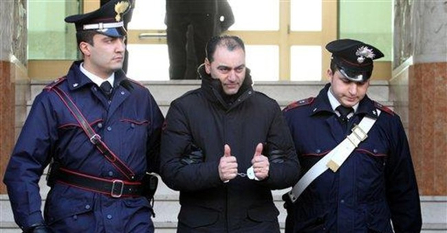 Italian police carry out mob crackdown