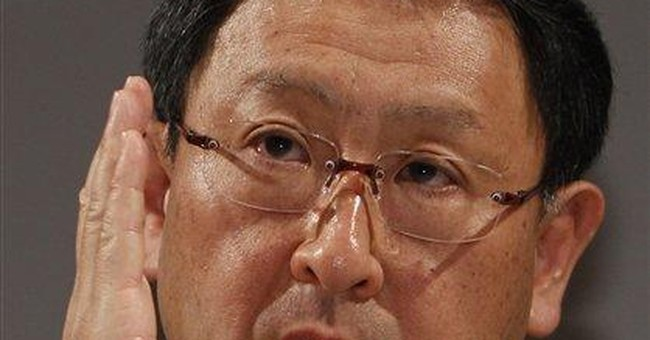Toyota targets annual sales of 10 million vehicles