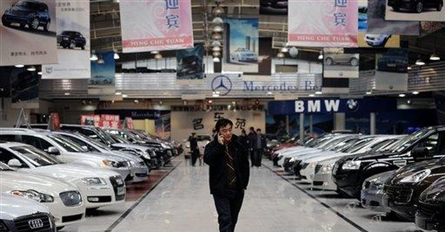 China's Feb auto sales slow, hit by holiday