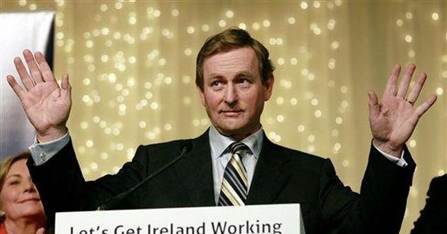 Ireland's new premier seeks easier bailout terms