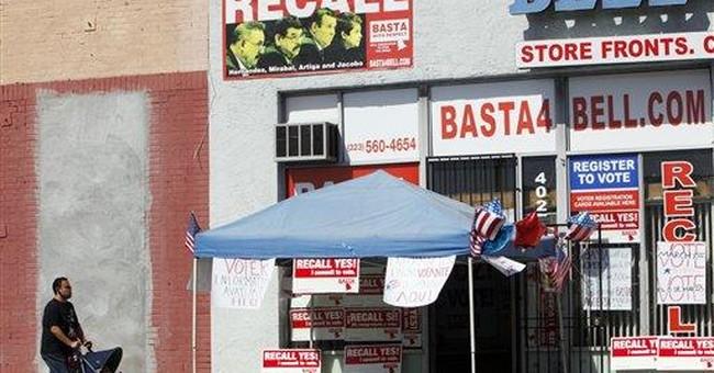 LA suburb overwhelmingly OKs council member recall