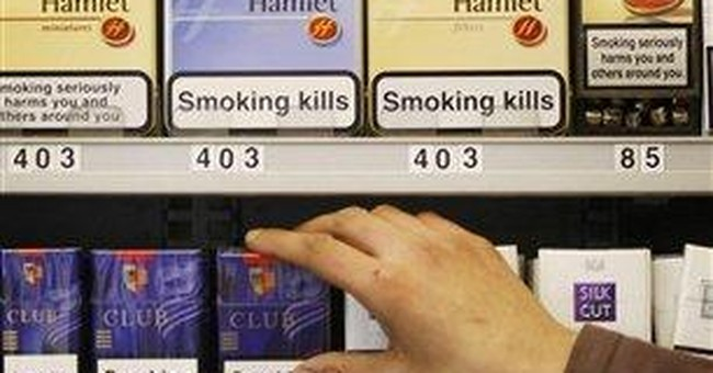 Cigarette displays to be banned in English stores