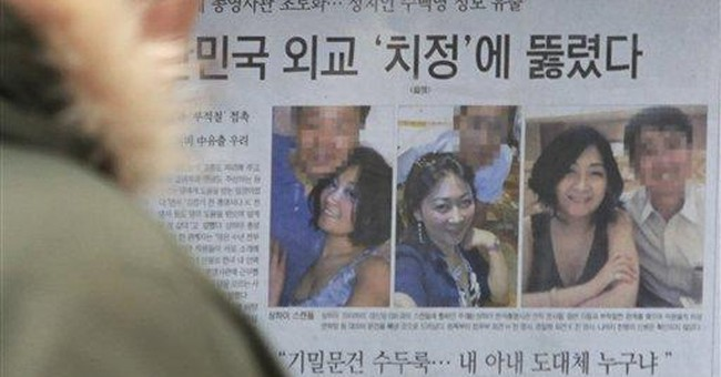 SKorea probes diplomatic documents-for-sex scandal
