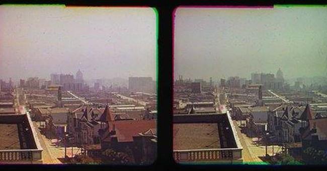 Color pics of San Francisco after '06 quake found