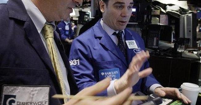 Stocks edge lower as bull market enters 3rd year