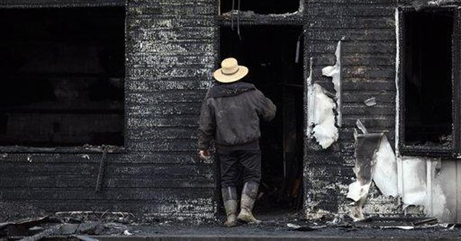 Work begins to replace house where fire killed 7