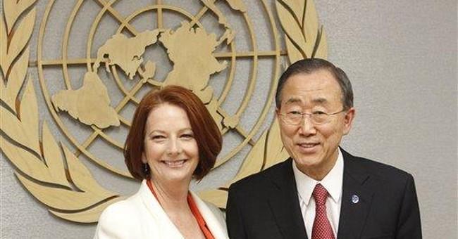 Australian PM pledges cooperation with US
