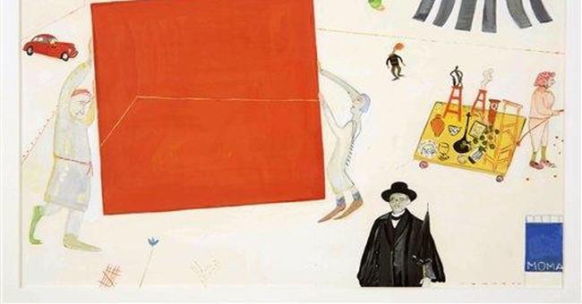 Maira Kalman's work lights up NY's Jewish Museum