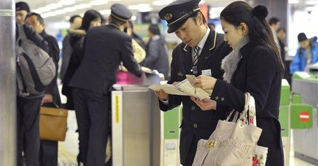Large earthquake hits northeast Japan; no damage