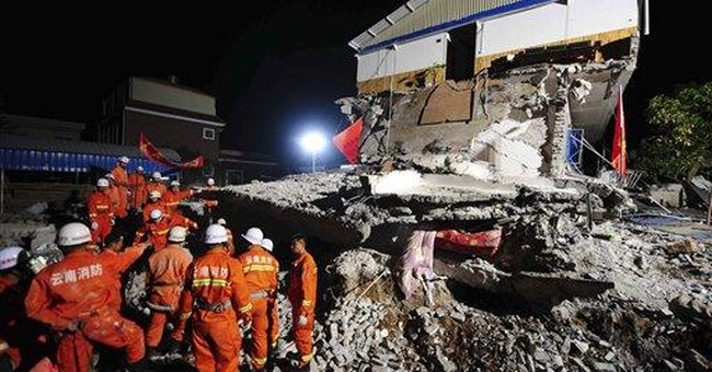 Toppled buildings in China quake raise questions