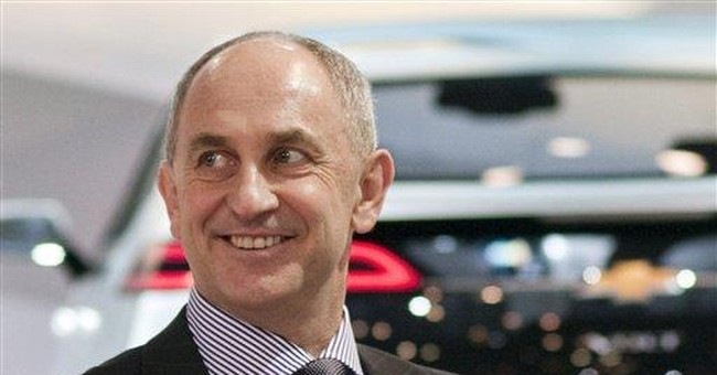 GM chief financial officer resigns unexpectedly