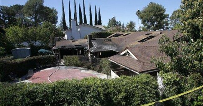 Mouseketeer Annette Funicello's LA home burns