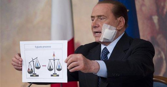 Berlusconi pushing to end appeals of acquittals